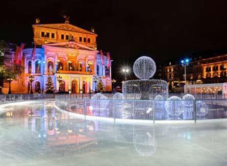 Edificio en frankfurt - Navidades en alemania ...
