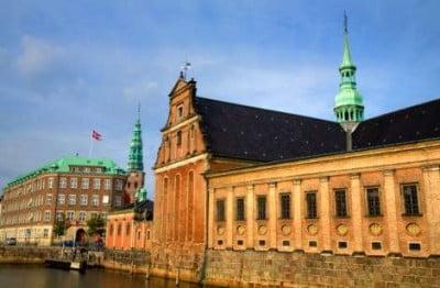 Edificio historico en Copenhague