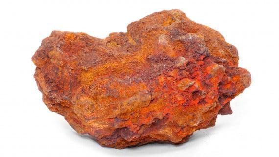 土赤鐵礦標本