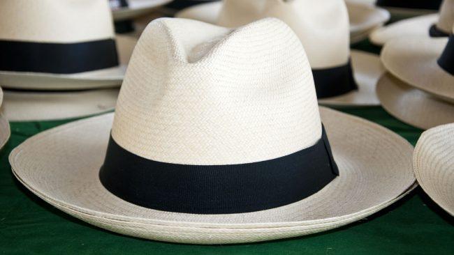 Ejemplo de sombrero paisa o antioqueño
