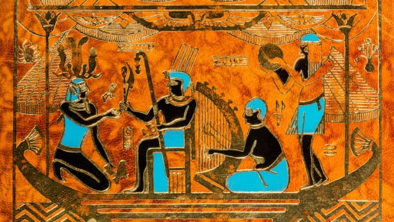 El Faraón era considerado como un dios