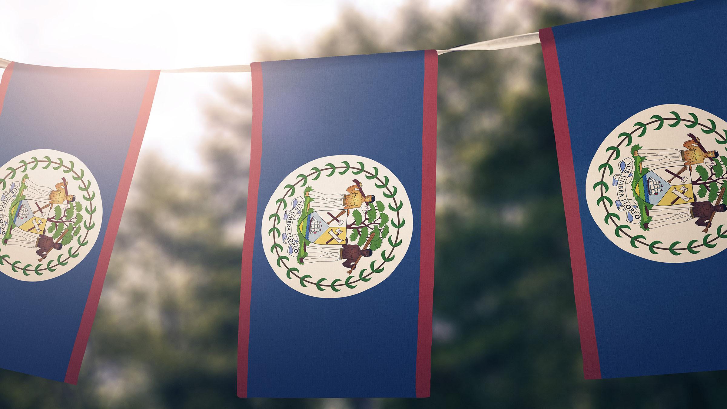 El Himno de Belice bandera