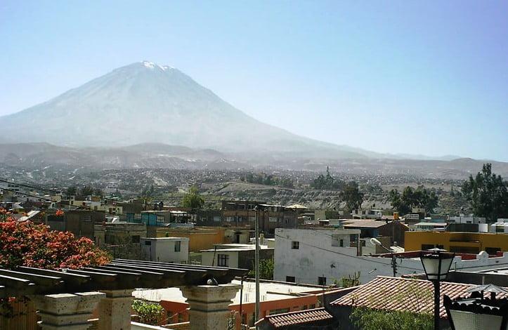 El Misti en Arequipa