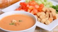 El famoso gazpacho andaluz