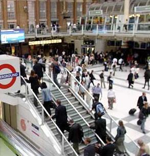 El metro de Liverpool desde arriba
