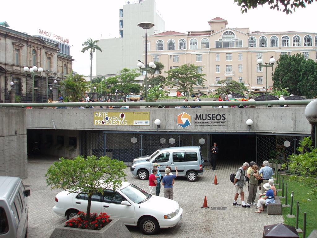 Entrada Museo del Oro