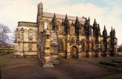 Entrada Rosslyn Chapel