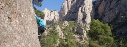 Escaladas en Montserrat