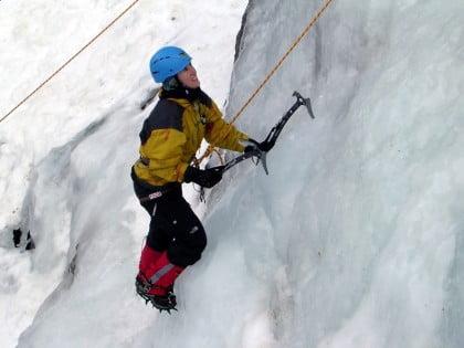 Escalar en hielo