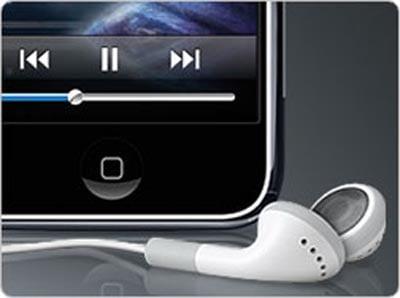 Escuchar música en el avión