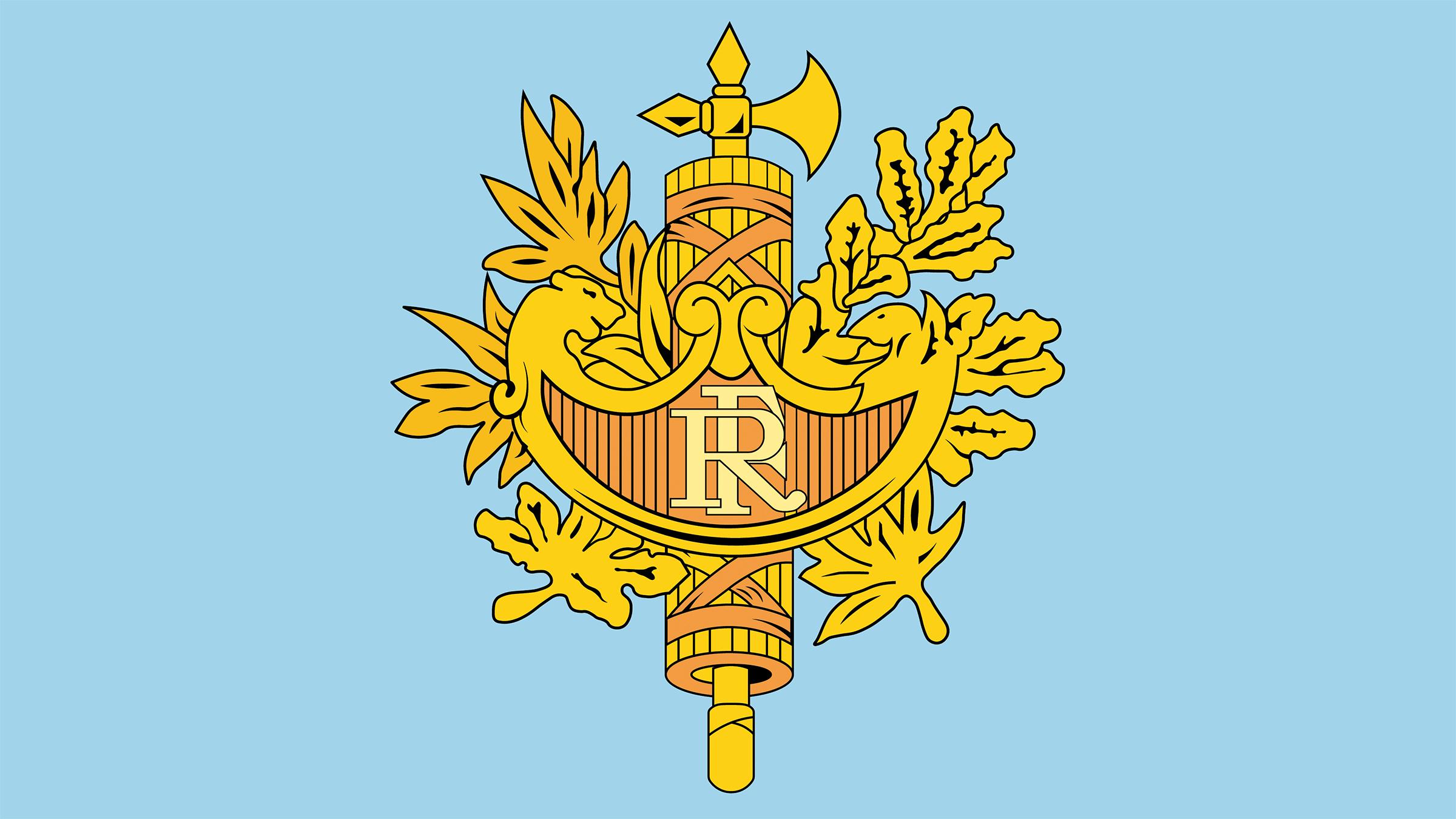 герб франции картинка распоряжении гостей