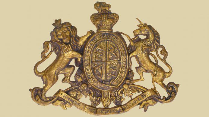 Escudo de armas del Reino Unido
