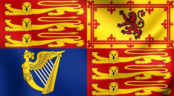 Escudo cuartelado en representación de los Estados Constitutivos