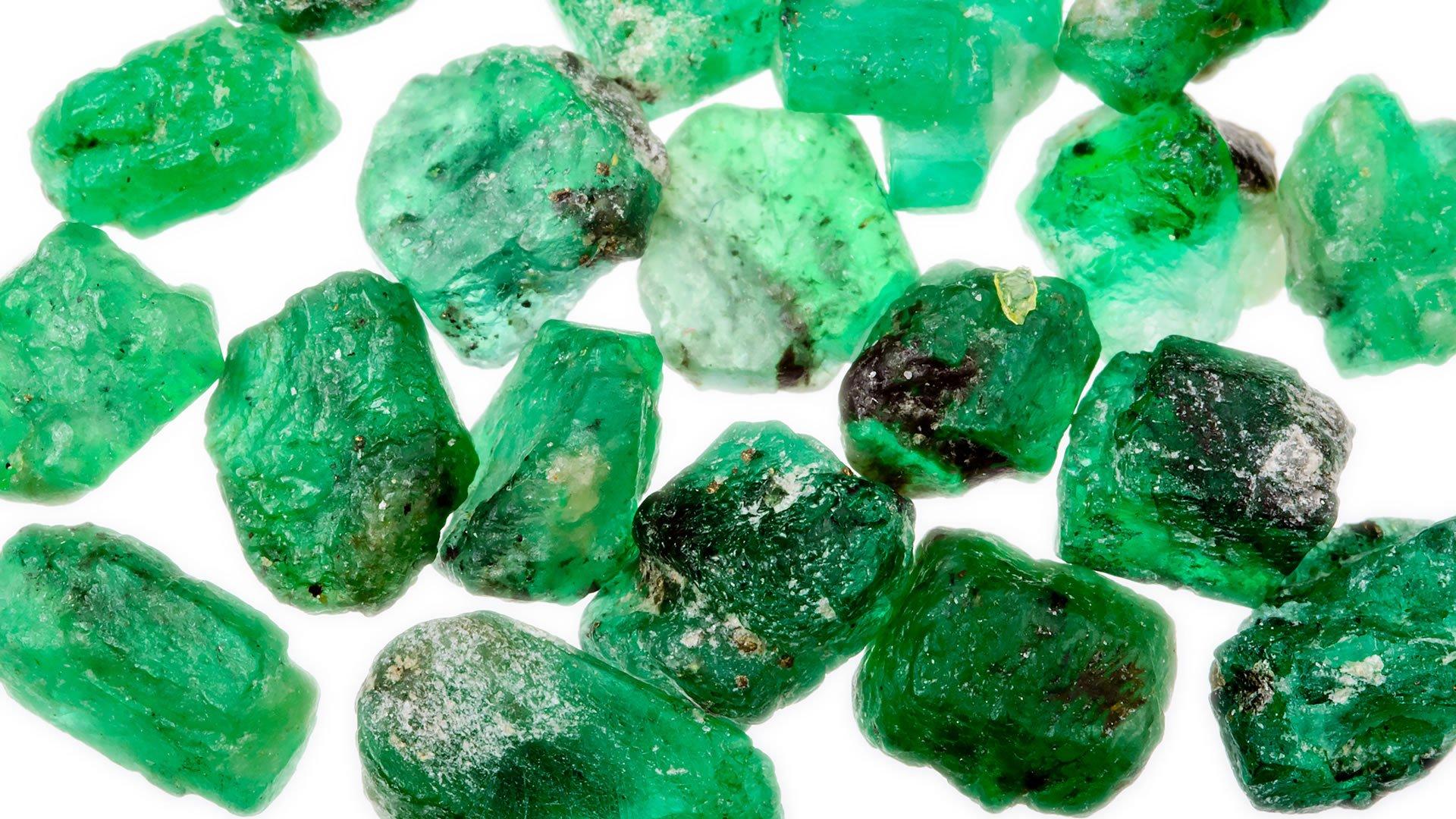 Lista de las rocas y los minerales más preciosos del planeta