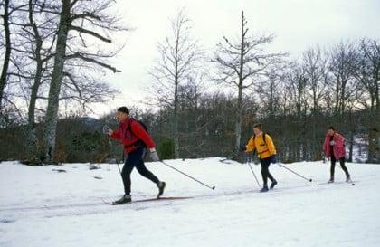 Esquí de fondo en Navarra