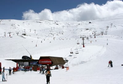 Esquiar en San Isidro