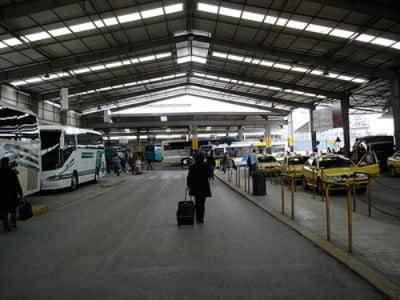 Estacion de autobus y taxis
