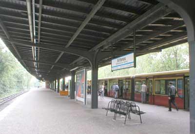 Estacion de tren S-Bahn