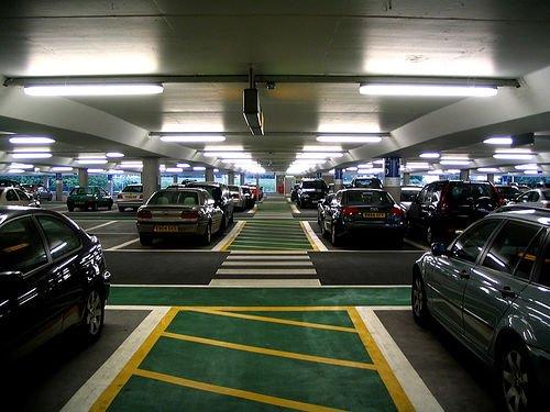 Estacionamientos coches