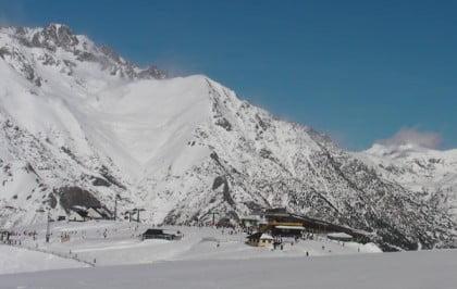 Estaciones de esqui de fondo en Panticosa