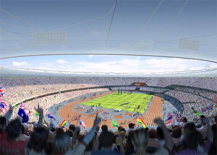 Estadio Olímpico en Londres