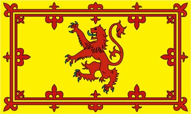 Estandarte Real de Escocia