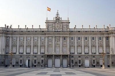 Fachada Principal del Palacio Real, Madrid