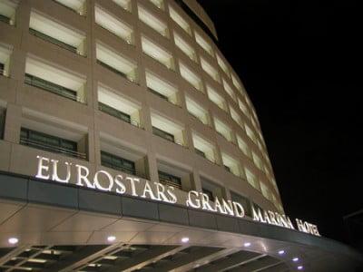 Fachada de Eurostars Grand Marina