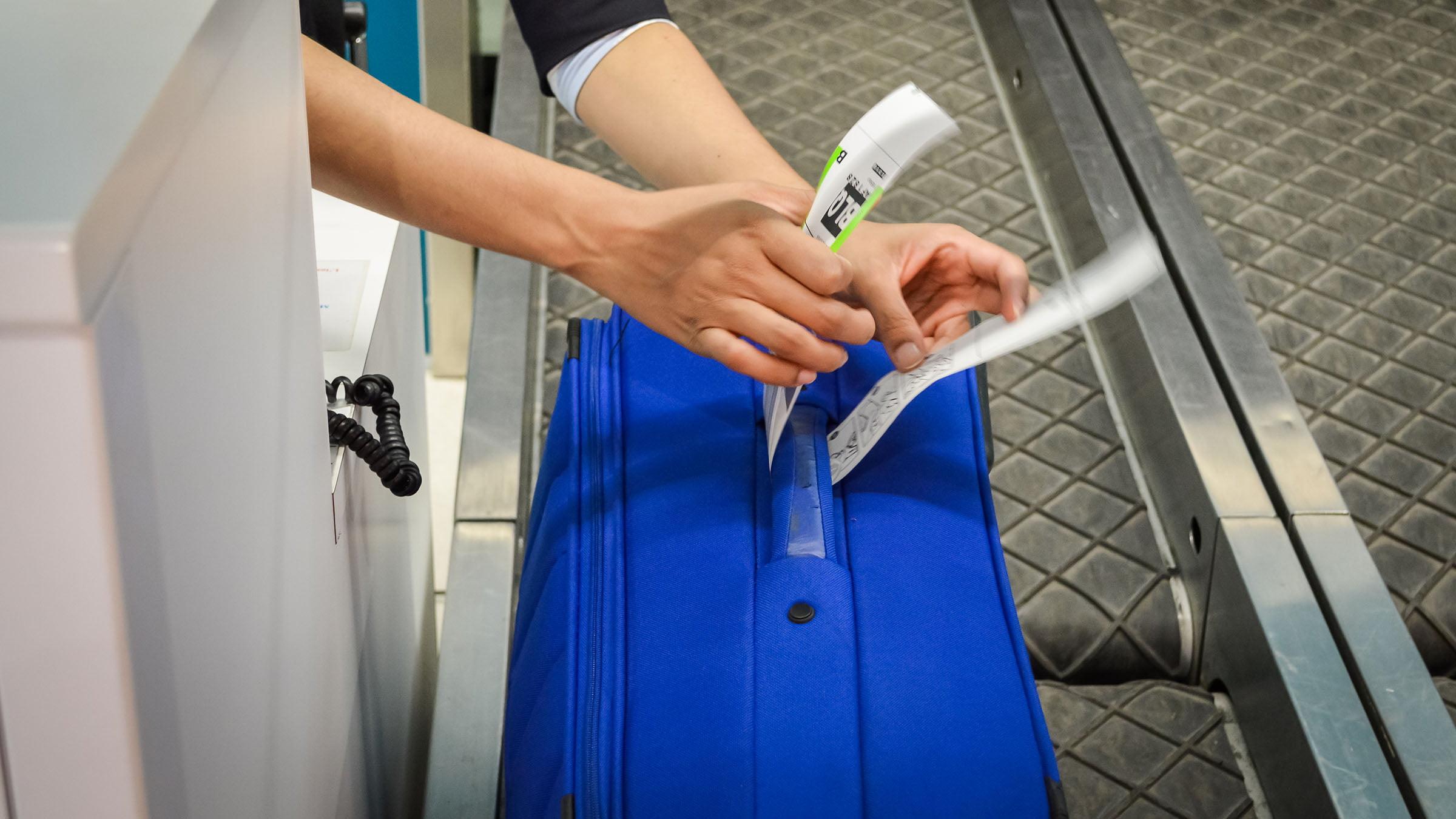 Facturación de maletas y tarjeta de embarque