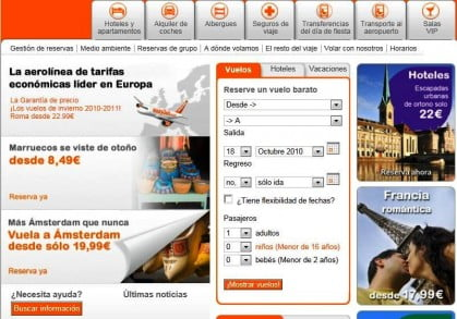 Check-in de easyJet
