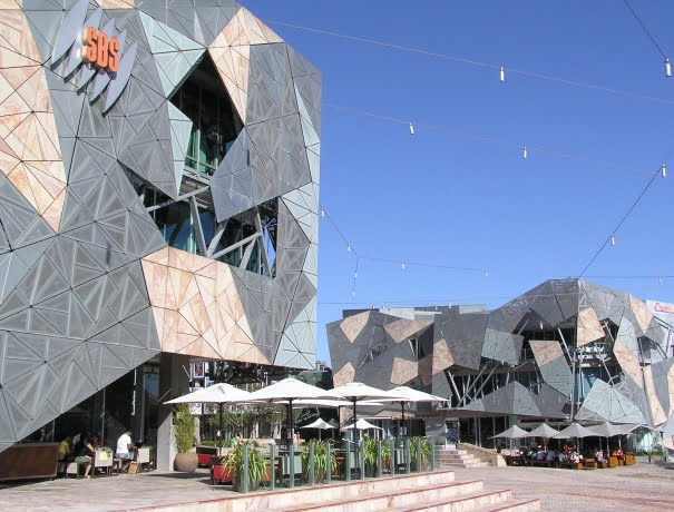 Federation Square en Melbourne