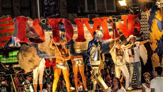 Mardi Gras jaialdia Sydney-n, Australian