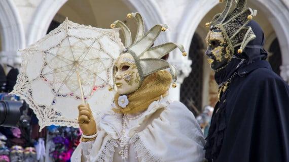 イタリアのお祭り:ヴェネツィアのカーニバル