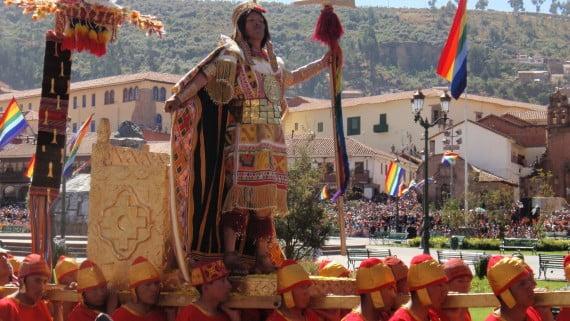Inti Raymi en Quito, Ecuador