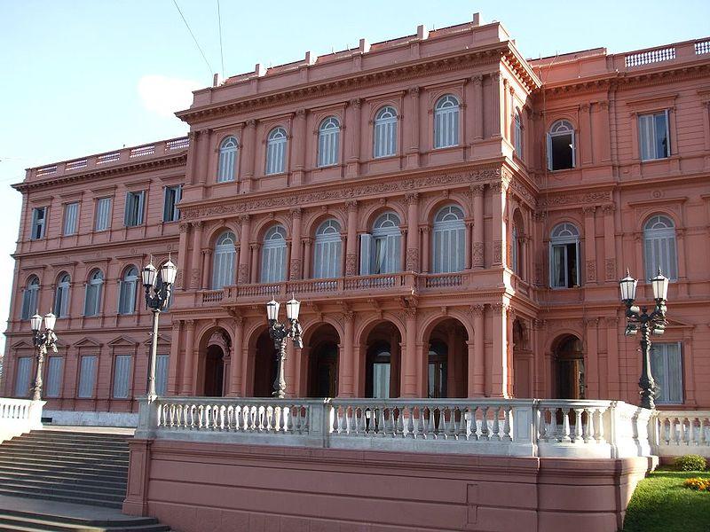 Foto casa rosada de argentina