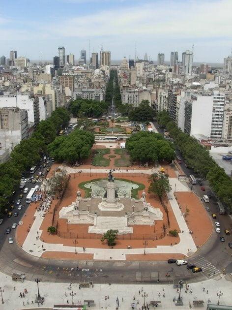 Fotos de Argentina - Plaza Congreso Nacional