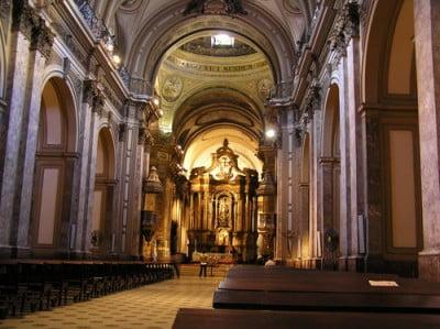Fotos de Buenos Aires - Interior de la Catedral Metropolitana