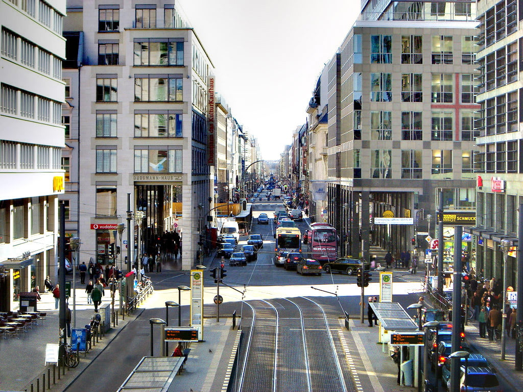 Friedrichstrasse- Berlín