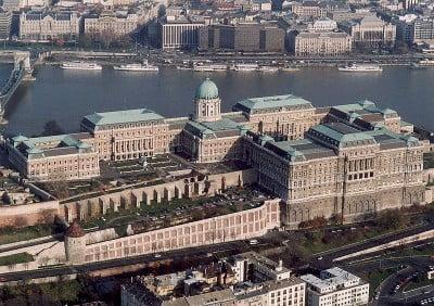 Galeria ubicada en el Palacio Real de Buda