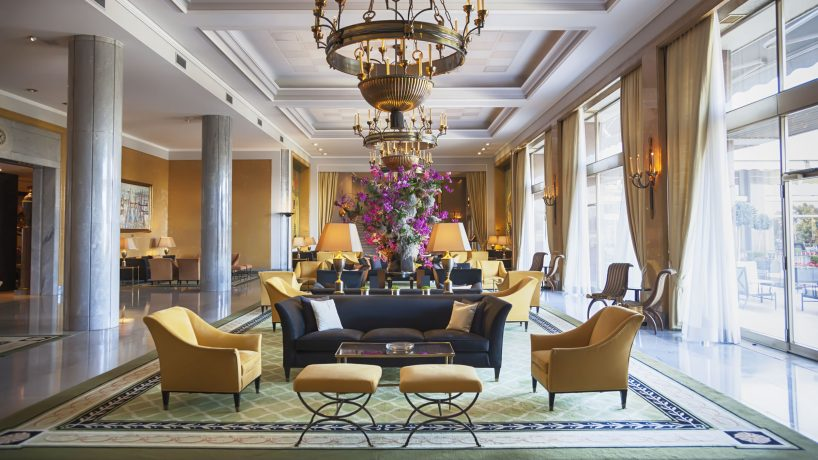 Los 22 hoteles m s lujosos de madrid for Hotel rural lujo madrid