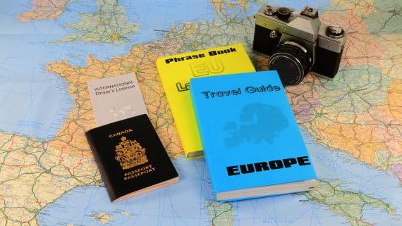Guías para viajar por Europa