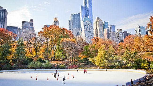 Inverno en Central Park