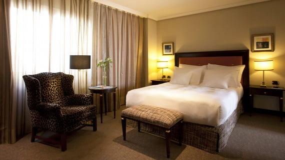 Habitaciones en el Hotel Hesperia Madrid