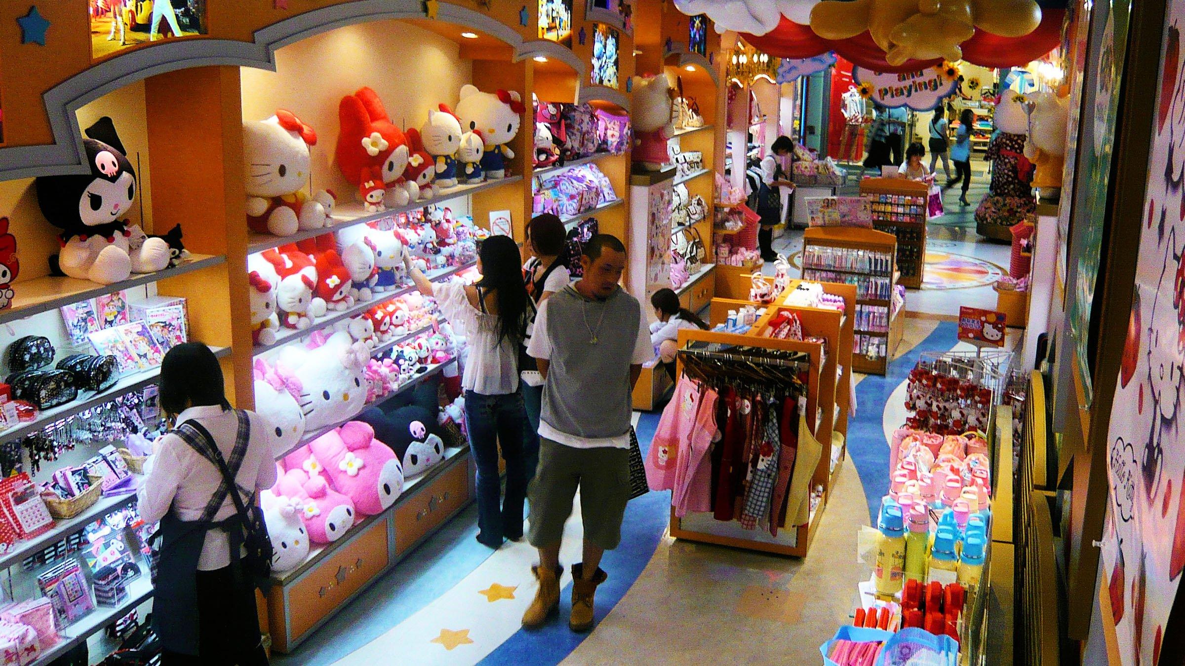Hello Kitty Japón