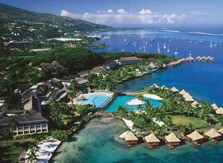 Hermosos hoteles en Tahiti