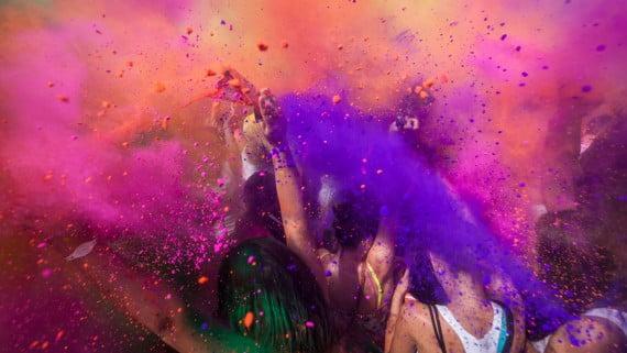 El Holi festival, una opción para singles que viajan a la India