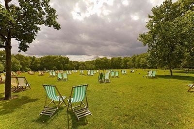 Hyde Park, Londres descanso ideal