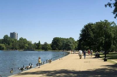 Hyde Park, Londres laguna