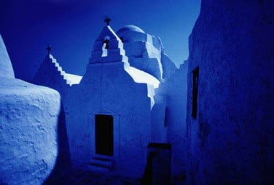 Iglesia de Isla Mykonos