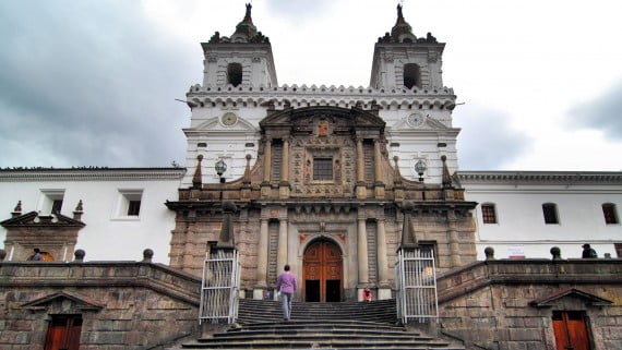 Church of San Francisco, Quito, Ecuador